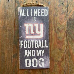 NY Giants Sign